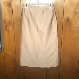 BCBG Max Azira - Diagonal Pleat High Waist Skirt